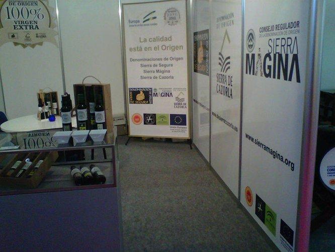 """Las DOP Sierra Mágina, Sierra de Segura y Sierra de Cazorla promocionan la calidad de sus aceites en la feria """"Andalucía Sabor"""""""