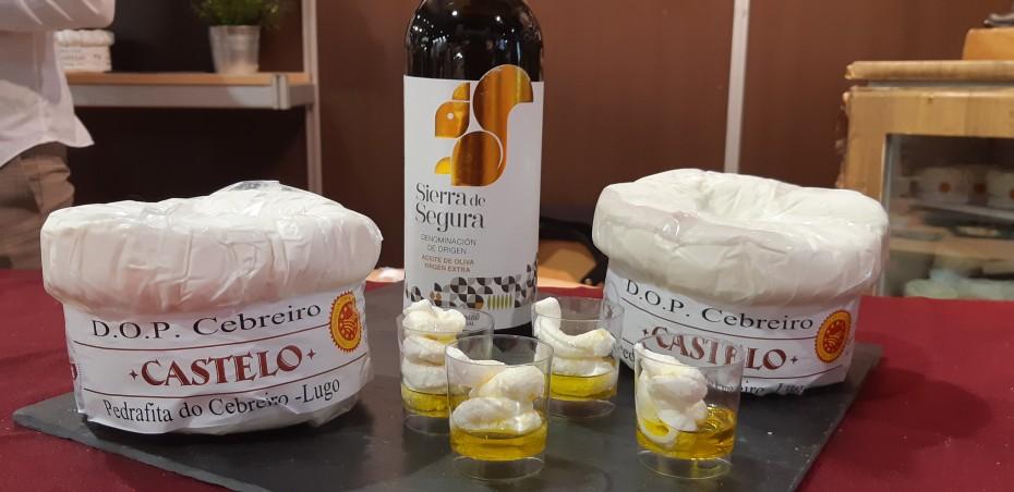 El aceite Denominación de Origen Sierra de Segura presente en Salimat - Mayor feria agroalimentaria de Galicia