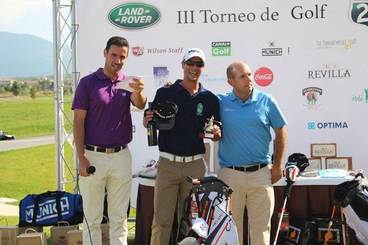 """La DO """"Sierra de Segura"""" promociona su aceite de oliva en un torneo organizado por Canal + Golf"""