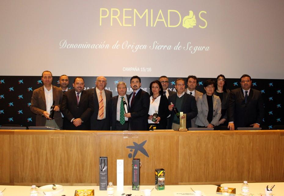 """La Denominación de Origen """"Sierra de Segura"""" presenta en Madrid sus aceites premiados en la campaña 15-16"""