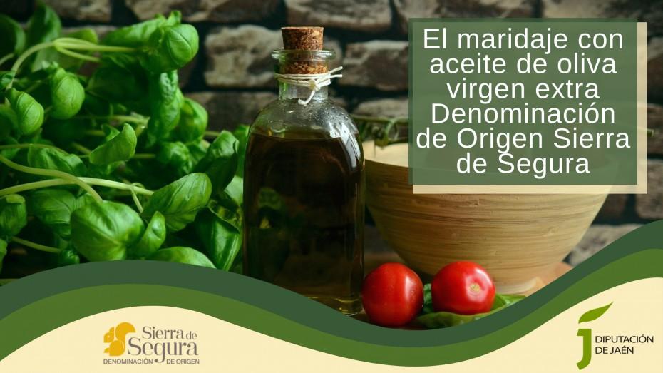 El maridaje con aceite de oliva virgen extra Denominación de Origen Sierra de Segura