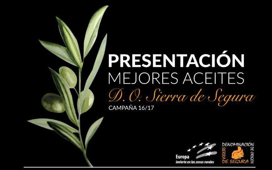 Madrid recibe los Mejores Aceites Denominación de Origen de Sierra de Segura, 2016/17