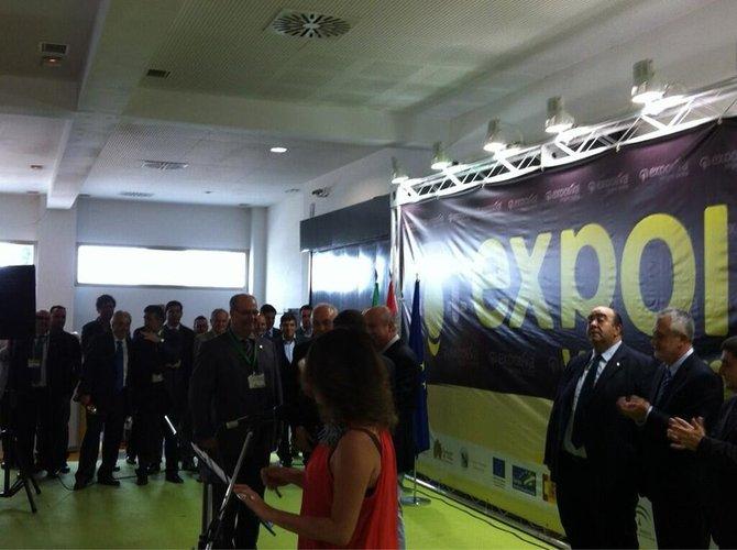 Obtenemos el Premio al mejor diseño de Stand en Expoliva 2013